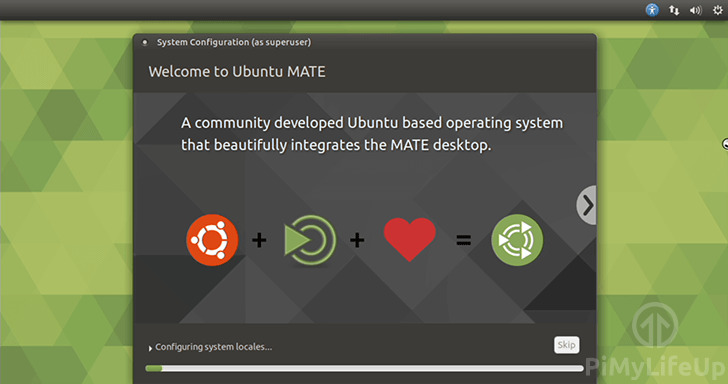 Raspberry Pi Ubuntu Mate Setup Progress