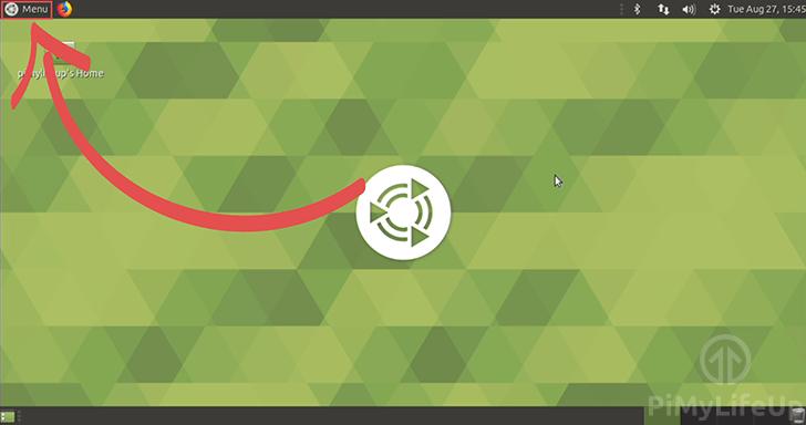 Ubuntu Mate Menu Location