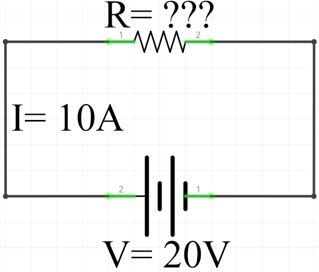 Ohms Law Example 3 Calculating Circuit Resistance