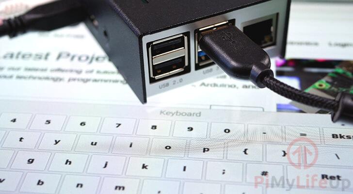 Raspberry Pi On-Screen Keyboard