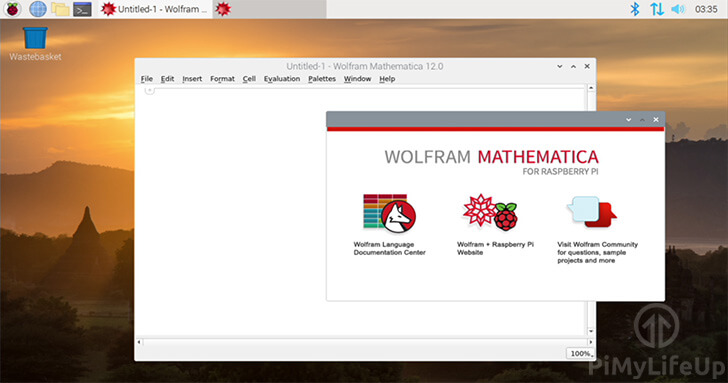 Wolfram Mathematica on the Raspberry Pi