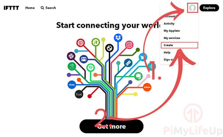 Create a New IFTTT Applet