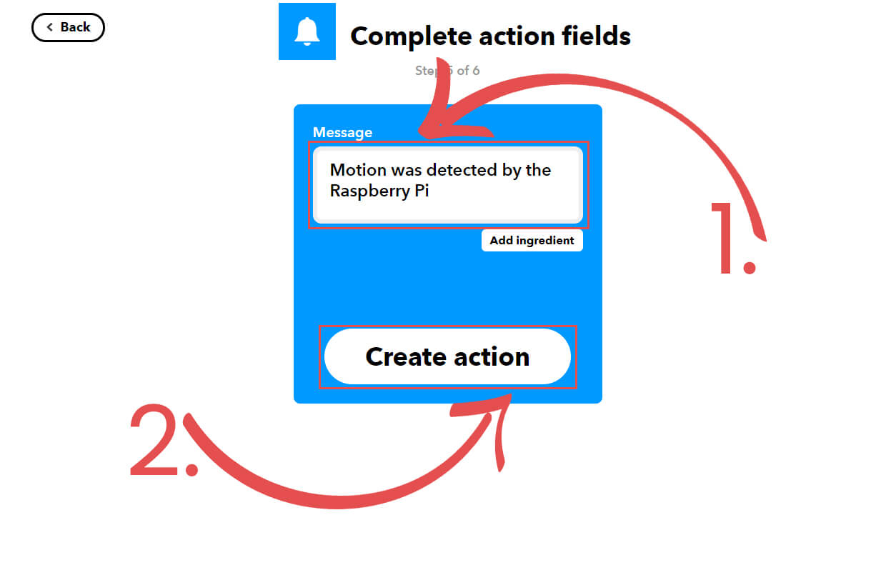 Complete Action Field