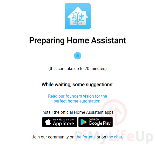 Prepearing Home Assistant on Raspberry Pi