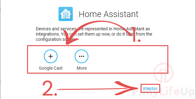 Add First Home Assistant Devices