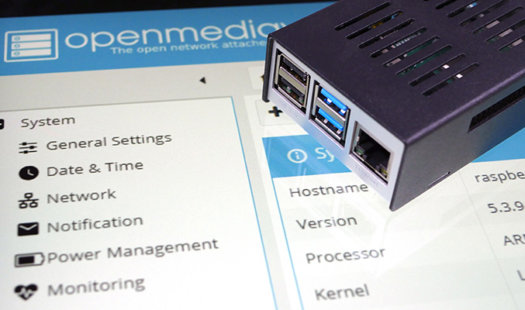 Installing OpenMediaVault to a Raspberry Pi Thumbnail