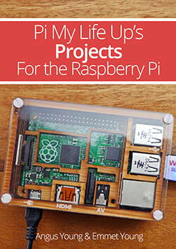 Projects for the Raspberry Pi eBook Cover