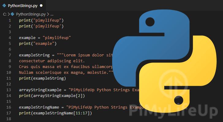 String in Python Thumbnail