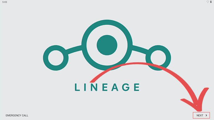 Lineage Initial Setup Steps
