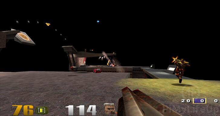 Quake 3 Gameplay running on Raspberry Pi