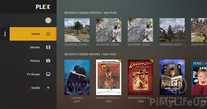 Raspberry Pi Plex Media Player Library