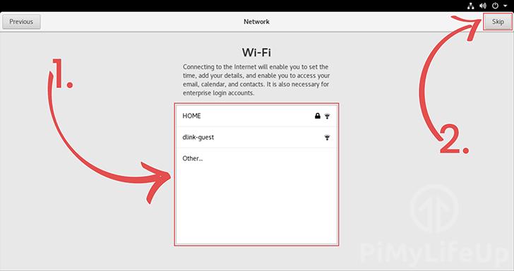 Make Wi-Fi connection CentOS setup