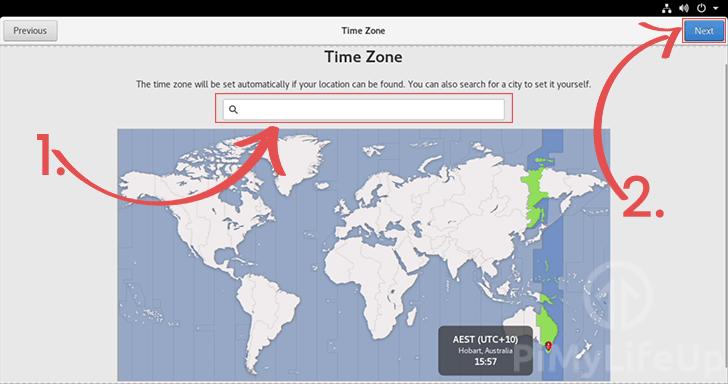 Select Raspberry Pi TimeZone in CentOS