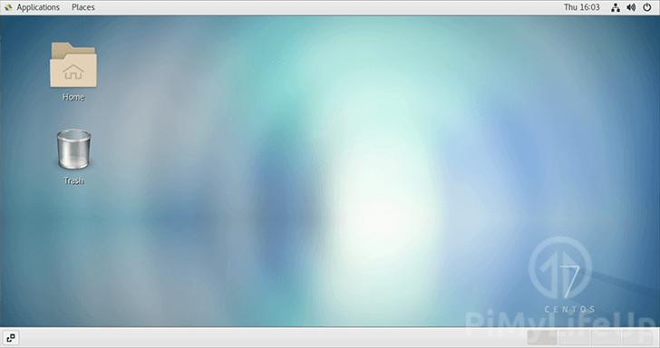 entOS running on the Raspberry Pi