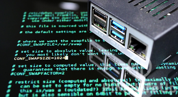 Raspberry Pi Swap file