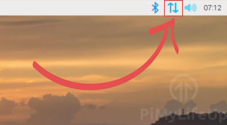 Raspberry Pi OS Connection Icon