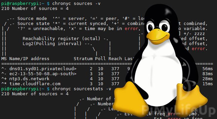ntp on linux using chrony