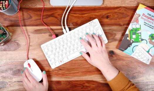 Raspberry Pi 400: Pi in a keyboard Thumbnail