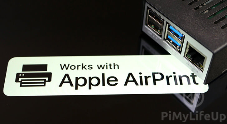 Raspberry Pi AirPrint