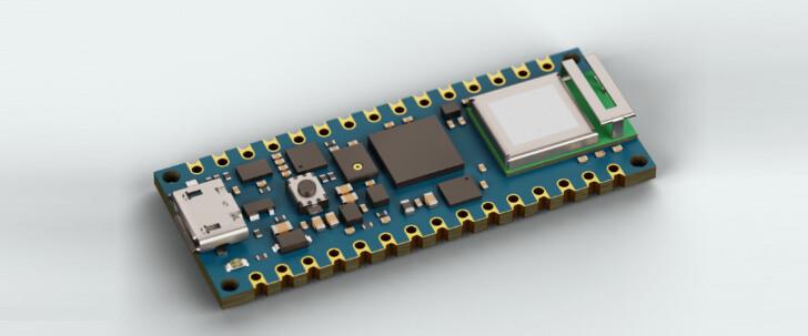 Arduino Nano RP2040 Connect Mockup