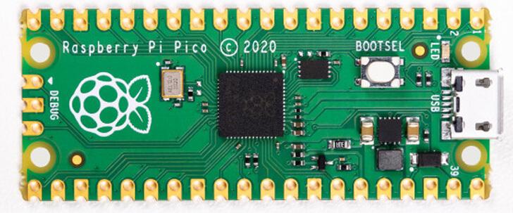 Raspberry Pi Pico Top side