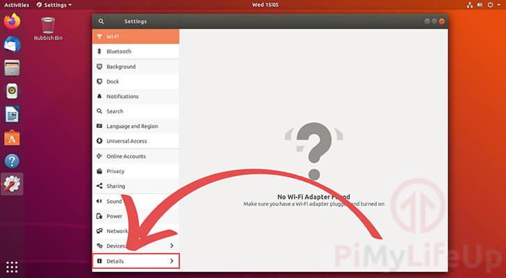 Find details for Ubuntu version