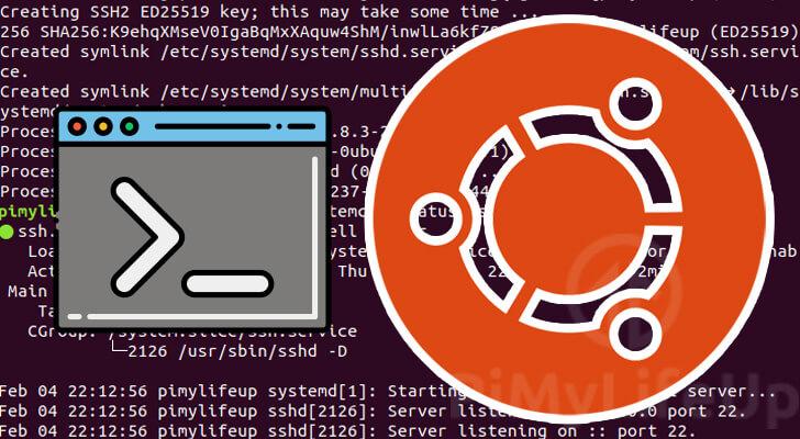 Enable SSH on Ubuntu