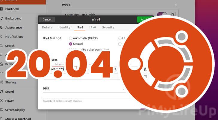Static IP address Ubuntu 20.04