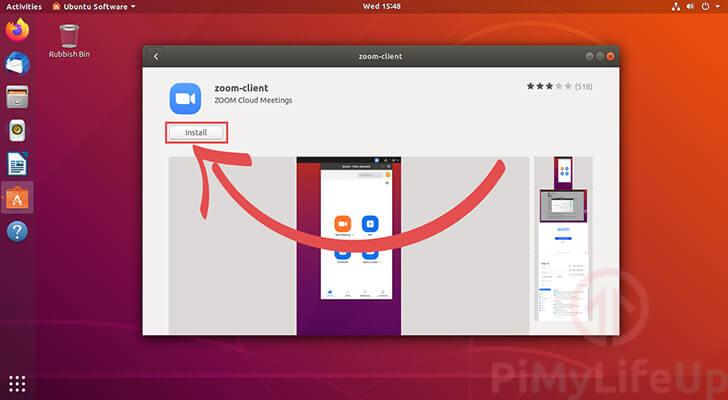 Installing the Zoom Client on Ubuntu 18.04