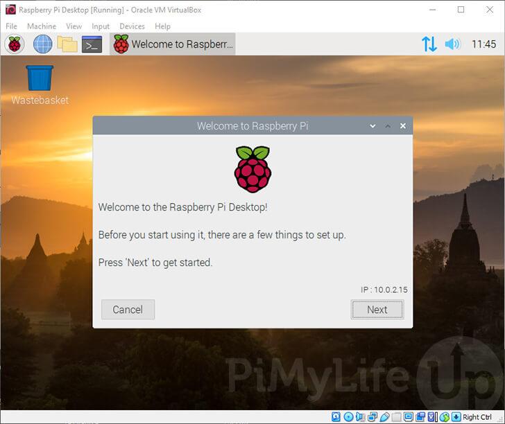 Raspberry Pi Desktop OS Installed to VM