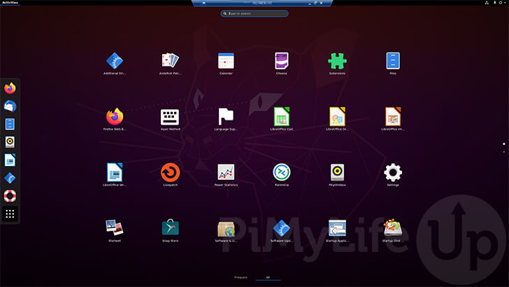 Successfully Connected to Ubuntu System