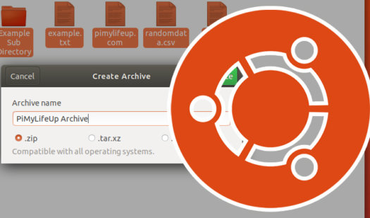 How to Zip Files and Folders on Ubuntu Thumbnail