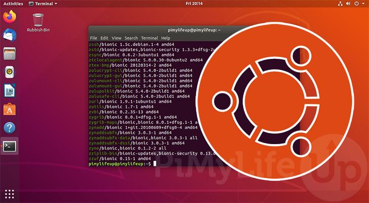Ubuntu list installed packages