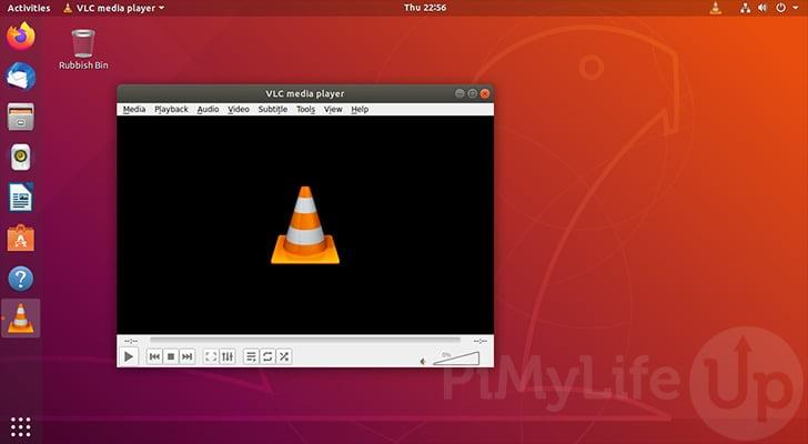 VLC Running successfully on Ubuntu