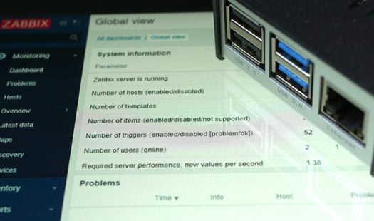 Installing Zabbix on to a Raspberry Pi Thumbnail