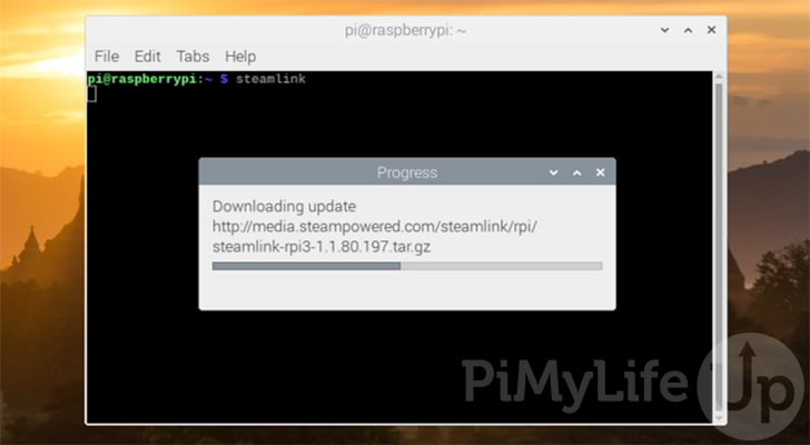 Downloading Latest version of Steam Link for the Raspberry Pi