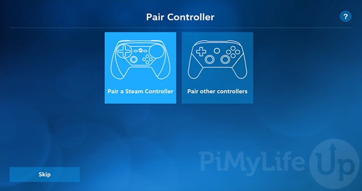 Pair controller to Pi