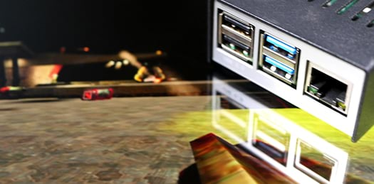 Raspberry Pi Quake 3