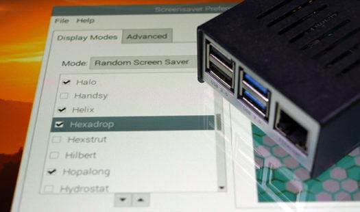 Screensaver on the Raspberry Pi Thumbnail
